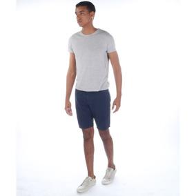 Bermuda Colcci Masculina Em Sarja Davi Com Bolso Faca