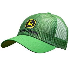 25c9c39a7fce9 John Deere Classic Logo Mesh Cap-john Deere Green