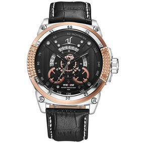 8f3643dbf82 Relogio Weide Dourado - Relógios no Mercado Livre Brasil