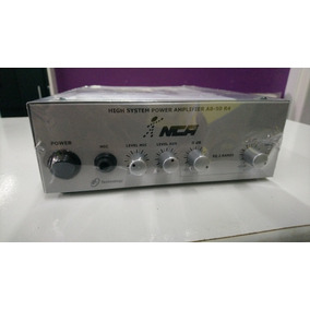 Amplificador\potência Compacto Nca Ab50 R4