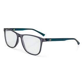 Armação Oculos Grau Mormaii Jeri M6043d6155 Fume Fosco Azul 806443cff1