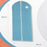 Protector Para Vestidos Bolsa Cuidado De Ropa Wenko Azul Hs