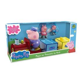 Peppa Pig Peppa E George No Trenzinho Do Vovô Dtc