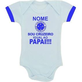 Nome Numero Cruzeiro - Roupas de Bebê no Mercado Livre Brasil e103f14e495