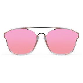 Lente De Sol Transparente Color Rosado, Glasses G3 Pop7154