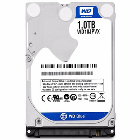 Hd Notebook 1tb Sata De 6 Gb/s Wd10jpvx Western Digital