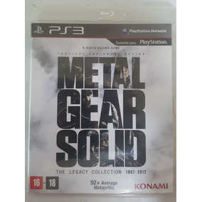Jogo Ps3 Metal Gear Solid The Legacy Collection