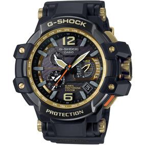 Relógio G-shock Gpw-1000gb-1a - Cor Preto+dourado