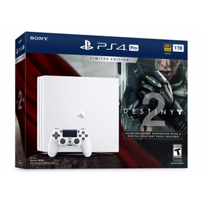 Ps4 Pro 4k 1tb Branco + Jogos - Playstation 4
