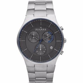 Skagen Relogio Super Fino Masculino - Relógios De Pulso no Mercado ... 7d922e54a5