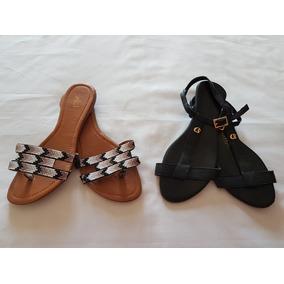 19cac6aaf Sandalia Rasteirinha Carmen Steffen Feminino - Sapatos no Mercado ...