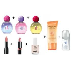 Kit Avon Perfumes Femininos Petit Attitude