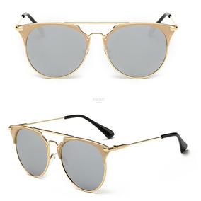 b5f9056cbe8ae Óculos De Sol Estilo Composit Rb3546 Di Gatinho Espelhado
