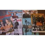 Lote 6 Revistas Soda Stereo Cerati Bilboard Rolling Stone