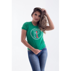 Camisa Palestra Italia Pi - Camisetas e Blusas para Feminino no ... 6ef64361e601b