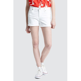 Short Levi´s® Mujer Mid Lenght Short White