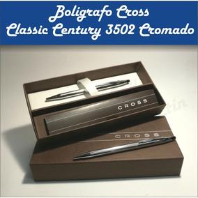 Bolígrafo O Lápiz Cross Classic Century Cromo Acero Lapicera