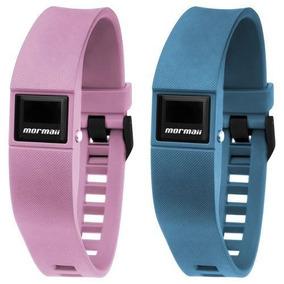 Relógio Mormaii Fit Mobo3970/8a Azul/rosa