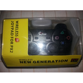 Controle Joystick Manete Sem Fio Wireless Playstation 2 Ps2