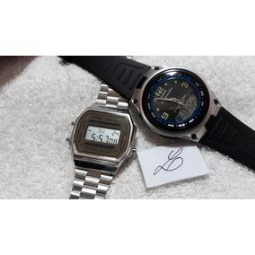 7c9a768d73c Relógios Casio Aw-82 E A-168 (conjunto) !