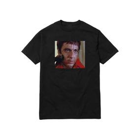 bcc06e5a37453 Camiseta Algodão Scarface Tony Montana Shower Tee Supreme