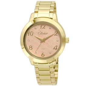 847831876b858 Fita Espelho Ourada Feminino - Relógios De Pulso no Mercado Livre Brasil