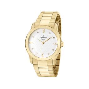 d6940a648d5 Relógio Atlantis Feminino Dourado Com Pedras Strass - Relógios De ...