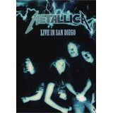 Metallica Live In San Diego Concierto Dvd