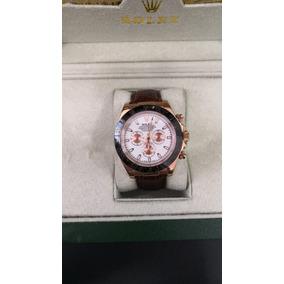 82bb77732ed Rolex Caixa Em Couro E Madeira Relogio Rolex - Relógios De Pulso no ...
