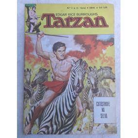 Tarzan Nª 2 - 5ª Série - Catástrofe Na Selva - Ebal - 1977