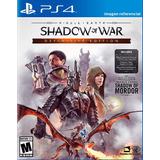 Shadow Of War / Definitive Edition / Juego Físico / Ps4