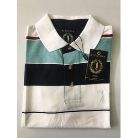 Camisa Polo Aleatory Masculina Listrada Original 006 b93e64a7c22