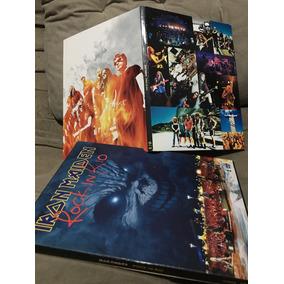 Dvd Iron Maiden Rock In Rio 3 Enluvado Duplo 2001 Importado