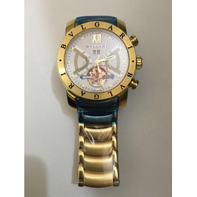 6ea66673ea6 Relogio Dourado - Relógio Bvlgari no Mercado Livre Brasil