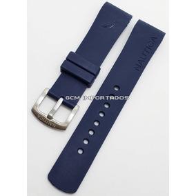 f80215cd658 Relógio Nautica N10075 Masculino Pulseira De Borracha - Relógios no ...