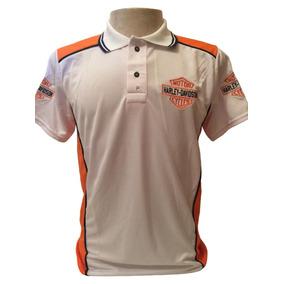 Camisa Camiseta Polo Harley Davidson Moto Bordada 0c5b9b8df5bcd