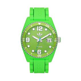 Reloj adidas Originals Modelo Brisbane Verde Neon