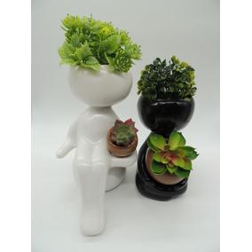 Casal De Vaso Para Suculentas E Cactos Robert Plant