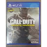 Call Of Duty Infinite Warfare Ps4 Disco Fisico Nuevo Sellado