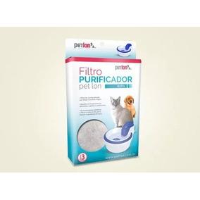 Filtro Para Fonte Gatos Cães Petlon Refil 3 Unidades