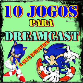 10 Jogos Pacth Dreamcast Mídia Física ( A Sua Escolha )