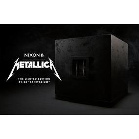 Metallica Nixon Sanitarium (edição Limitada) Pronta Entrega