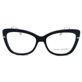 74418acddc586 Armação P  Oculos De Grau Feminino Marc Jacobs-black Friday