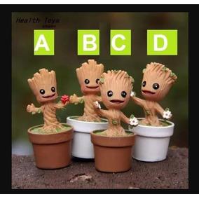1 Groot Baby - Guardiões Da Galáxia 4,8 Cm - Stocklar