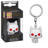 Ghost Llavero Funko Pop! Keychain: Game Of Thrones