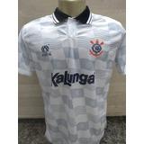 Camisa Corinthians Kalunga Retro no Mercado Livre Brasil 58f3abd60324a