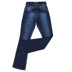 Calça Flare Jeans Feminina Docks Azul 19876 d5629212d5d
