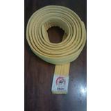 Cinta Para Karate Color Celeste Y Blanco