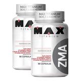 2x Pré Hormonal Zma 90caps - Max Titanium