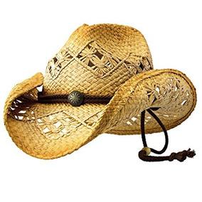 Sombreros Vaqueros De Rafia en Mercado Libre México d7f927e184b